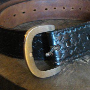Genuine Hand Cut Leather Belt!